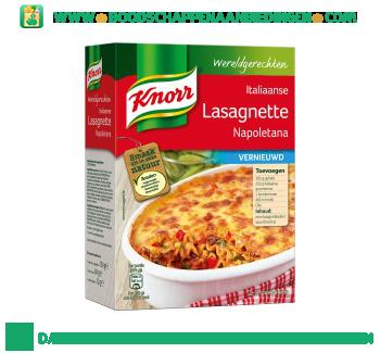 Knorr Wereldgerechten Lasagnette Napoletana aanbieding