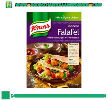 Knorr Wereldgerechten Libanese falafel aanbieding