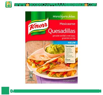 Knorr Wereldgerechten Mexicaanse Quesadillas aanbieding