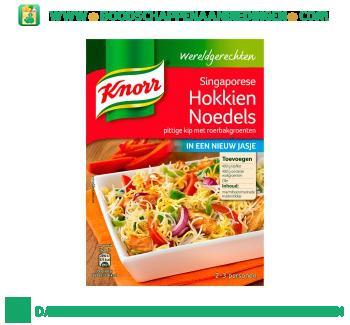Knorr Wereldgerechten Singaporese Hokkien Noedels aanbieding