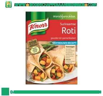 Knorr Wereldgerechten Surinaamse roti aanbieding