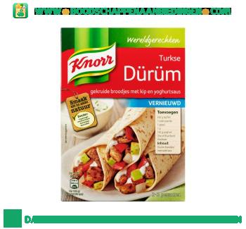 Knorr Wereldgerechten Turkse durum aanbieding