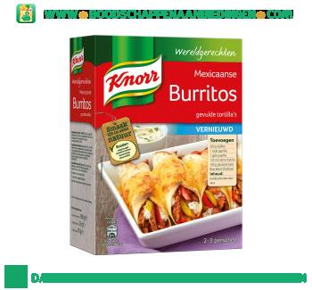 Knorr Wereldgerechten burritos aanbieding