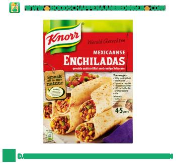Knorr Wereldgerechten enchilada aanbieding
