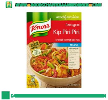 Knorr Wereldgerechten kip piri piri aanbieding