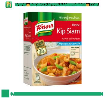 Knorr Wereldgerechten kip siam aanbieding