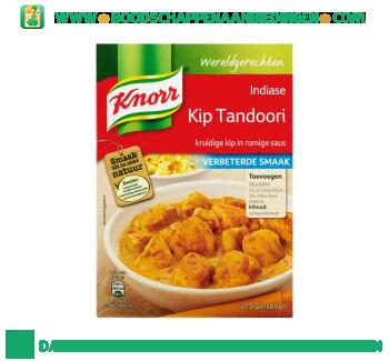 Knorr Wereldgerechten kip tandoori aanbieding