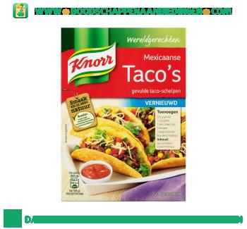 Knorr Wereldgerechten taco's aanbieding