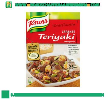 Knorr Wereldgerechten teriyaki aanbieding