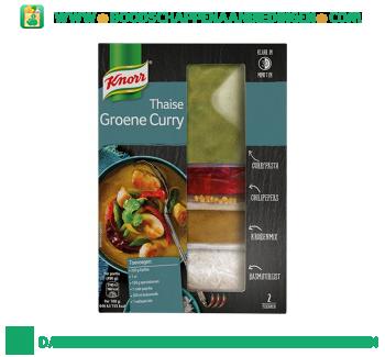 Knorr Wereldspecials groene curry aanbieding