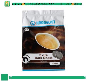 Koffiepads extra dark roast aanbieding