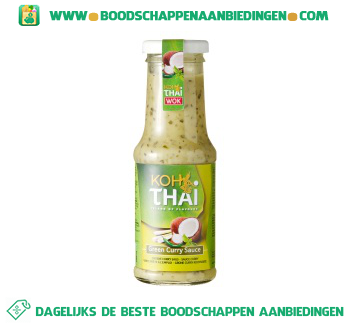 Koh Thai Groene curry saus aanbieding