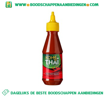Koh Thai Hot sweet chili saus aanbieding
