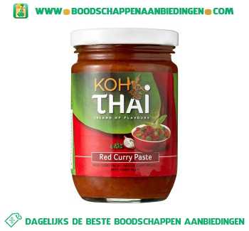Koh Thai Rode curry pasta aanbieding