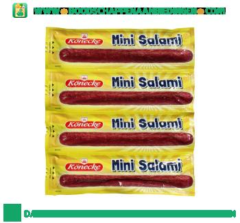 Konecke Mini salami aanbieding