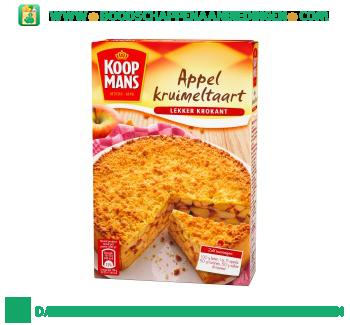 Koopmans Appel-kruimeltaart mix aanbieding