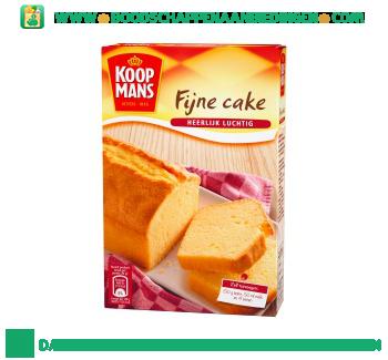 Koopmans Fijne cake mix aanbieding