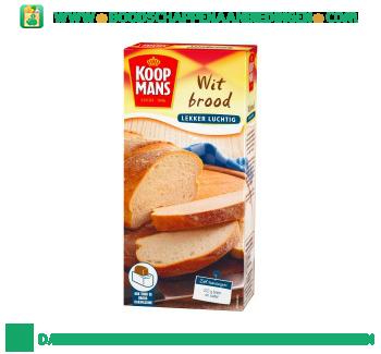 Koopmans Mix voor wit brood extra luchtig aanbieding