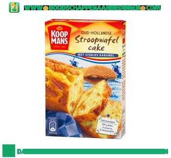 Koopmans Oud Hollandse stroopwafelcake aanbieding