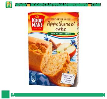 Koopmans Oud-hollandse appel-kaneel cake mix aanbieding