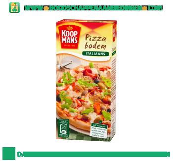 Koopmans Pizza bodem mix italiaans aanbieding