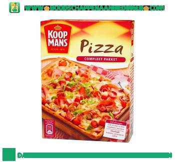 Koopmans Pizza compleet pakket aanbieding