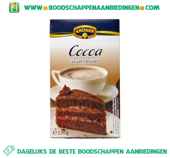 Cacao poeder aanbieding
