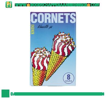 Kwini Cornets vanille ijs aanbieding