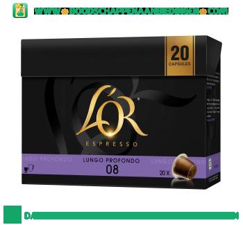L'OR Espresso Lungo profondo voordeelpak aanbieding