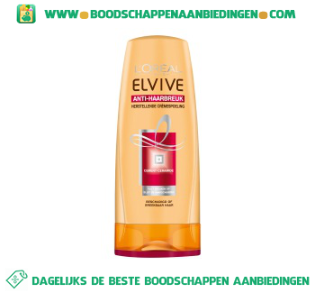 L'Oréal Elvive Conditioner anti-haarbreuk aanbieding