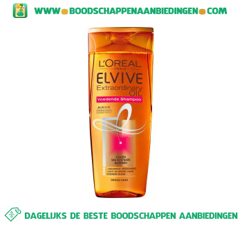 L'Oréal Elvive Shampoo textra ordinary oil aanbieding