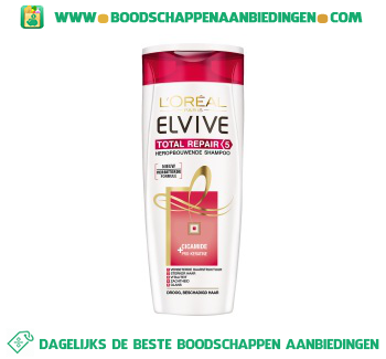 L'Oréal Elvive Shampoo total repair aanbieding