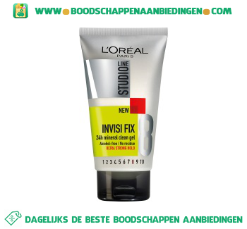 L'Oréal Studio Line Invisi fix gel super strong aanbieding