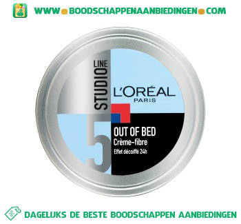L'Oréal Studio Line Out of bed crème-fibre aanbieding