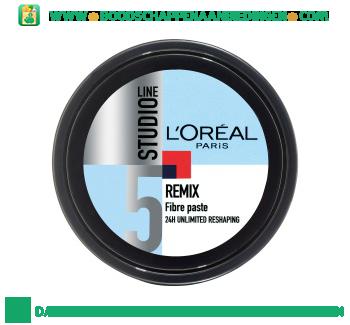L'Oréal Studio Line Remix fibre paste aanbieding