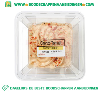 Ladessa Roomkaas chorizo tomaat aanbieding