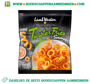 Lamb Weston Twister fries seasoned aanbieding