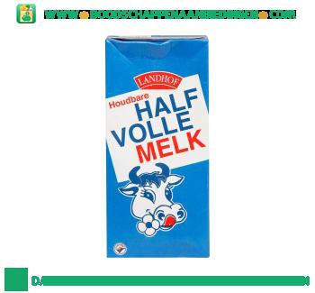 Landhof Halfvolle melk houdbaar aanbieding