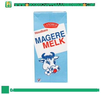 Landhof Magere melk houdbaar aanbieding