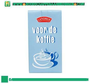 Landhof Voor de koffie aanbieding