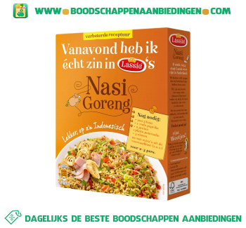 Lassie Nasi goreng rijst aanbieding