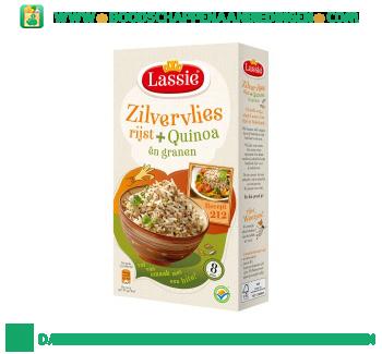 Lassie Zilvervliesrijst + quinoa en granen aanbieding