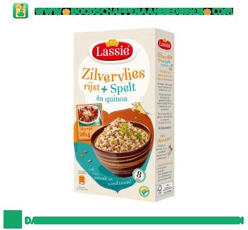 Lassie Zilvervliesrijst + spelt en quinoa aanbieding
