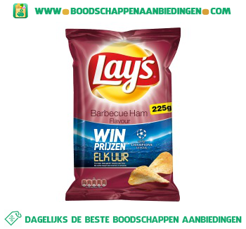 Lay's Chips barbecue ham aanbieding