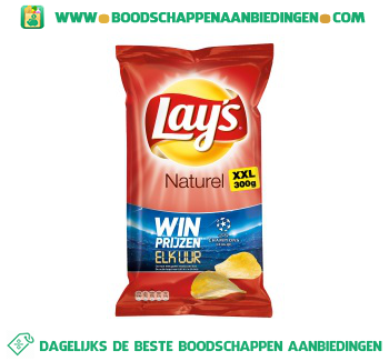 Lay's Chips naturel XXL aanbieding