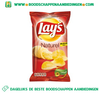 Lay's Chips naturel aanbieding