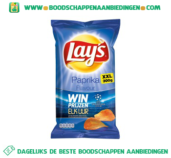 Chips paprika XXL aanbieding