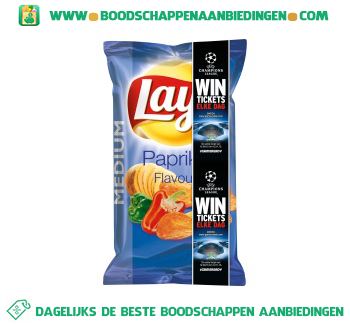 Lay's Chips paprika aanbieding