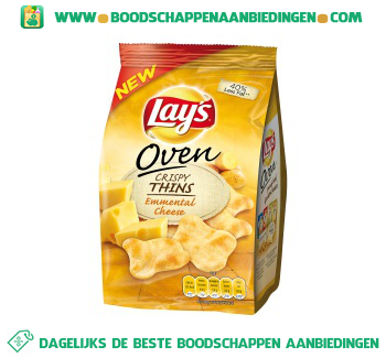 Lay's Crispy emmental cheese aanbieding