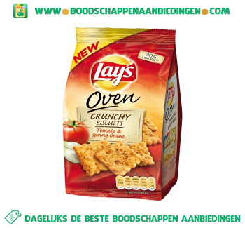 Lay's Crunchy tomato & onion aanbieding
